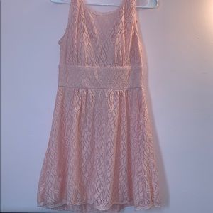 Dresses & Skirts - Baby Pink Lace Dress
